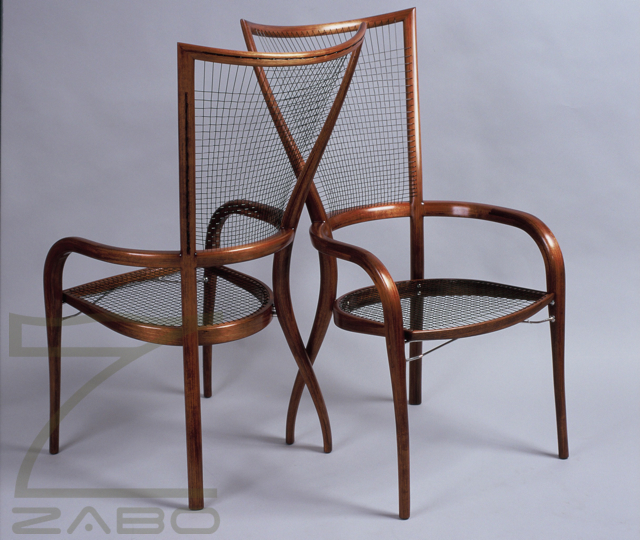 Fine Furniture Makers Blackwood Laminated Chair